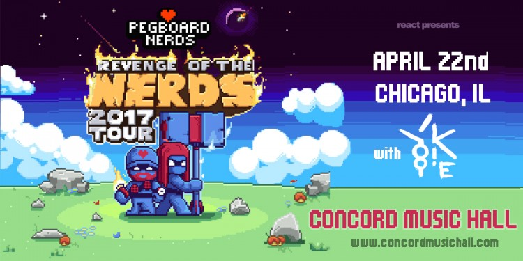 Pegboard Nerds Bring New EP & Tour To Concord!