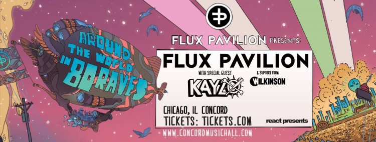 Flux Pavilion Hits Concord On His 'Around The World In 80 Raves' Tour!