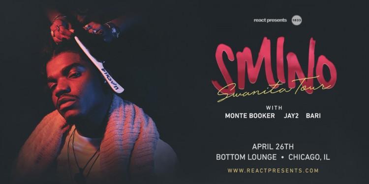 Smino Releases Debut Album | Swanita Tour Stops at Bottom Lounge