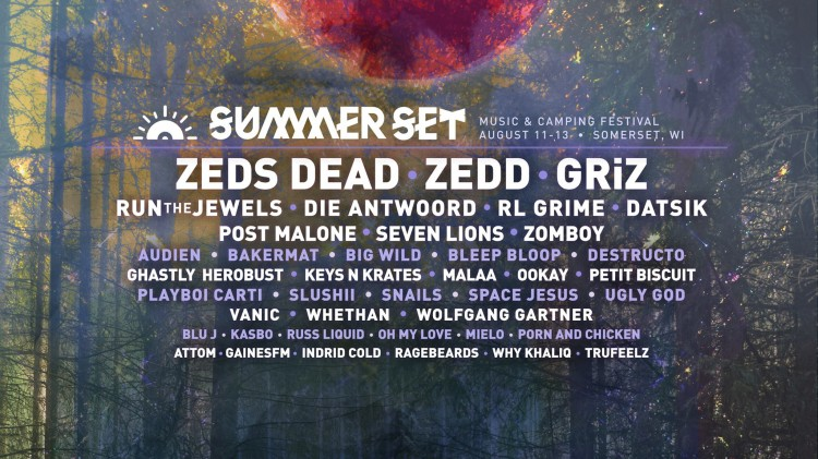 Summer Set Music Festival Announces 2017 Artist Lineup!