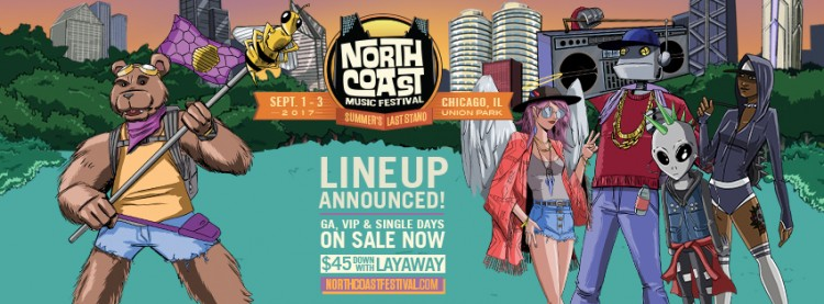 Just Announced: Artist Lineup for North Coast 2017