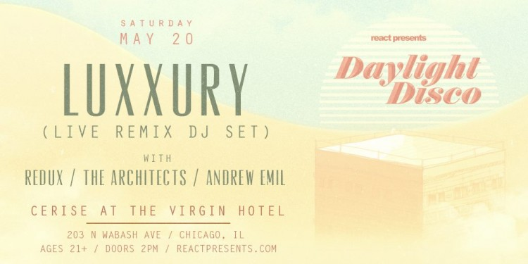 Celebrate the Return of Daylight Disco With Luxxury!