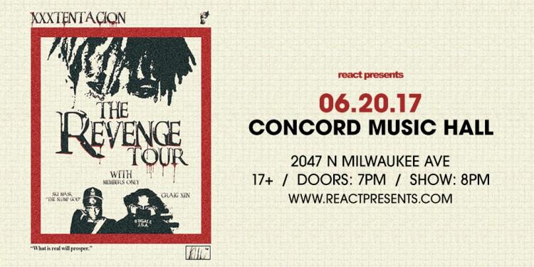 XXXTentacion Brings The Revenge Tour To Concord!