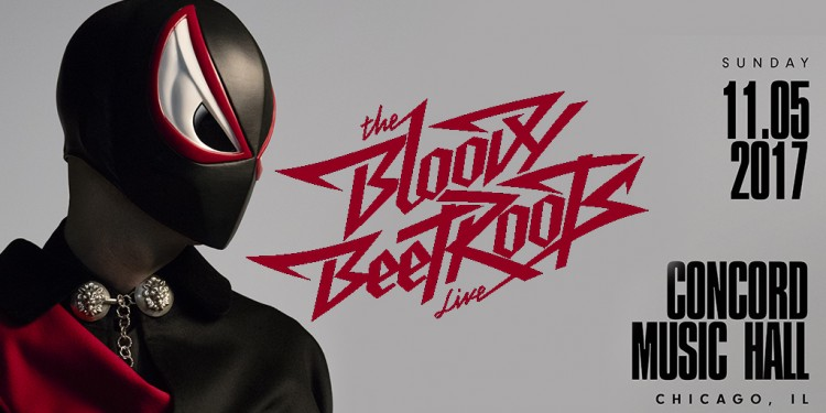 The Bloody Beetroots Perform Live at Concord this Fall