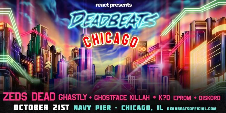 Zeds Dead's Deadbeats Tour Hits Chicago's Navy Pier this October