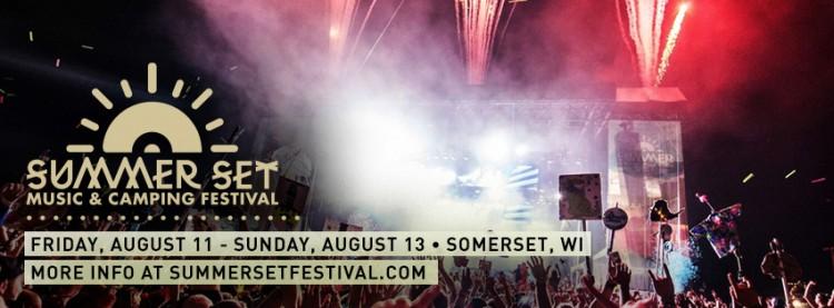 Summer Set Music & Camping Fest – Set Times & Pop-Up Stages!