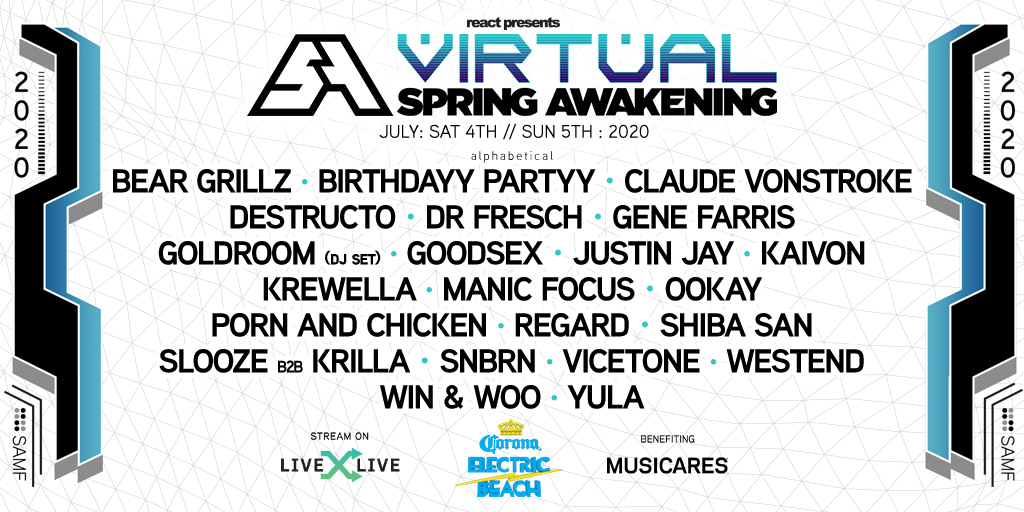 Virtual Spring Awakening Music Festival – Day 1
